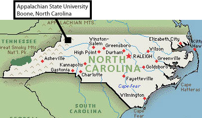 North Wilkesboro Nc Map.About Boone North Carolina Cratis D Williams School Of Graduate