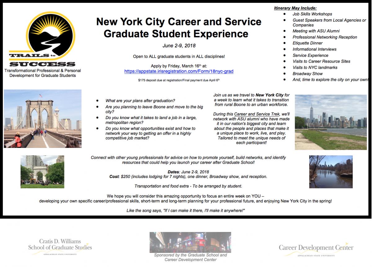 NYC CareerTrek Flyer