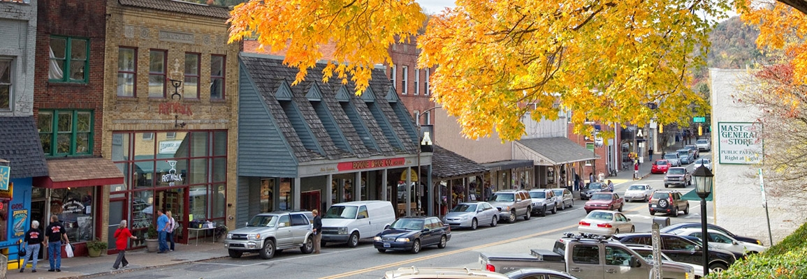 Downtown Boone