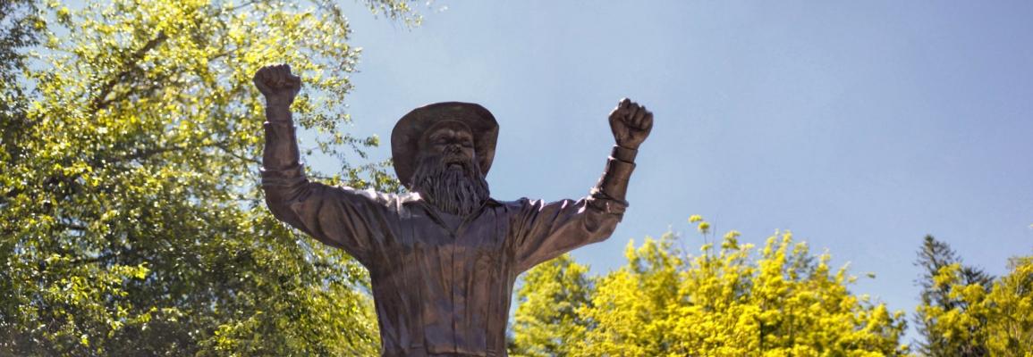 Status of Yosef, Appalachian's mascot