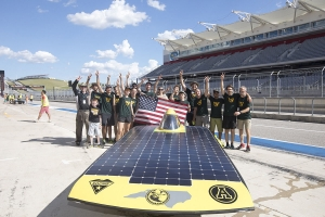 Solar Car Team Photo